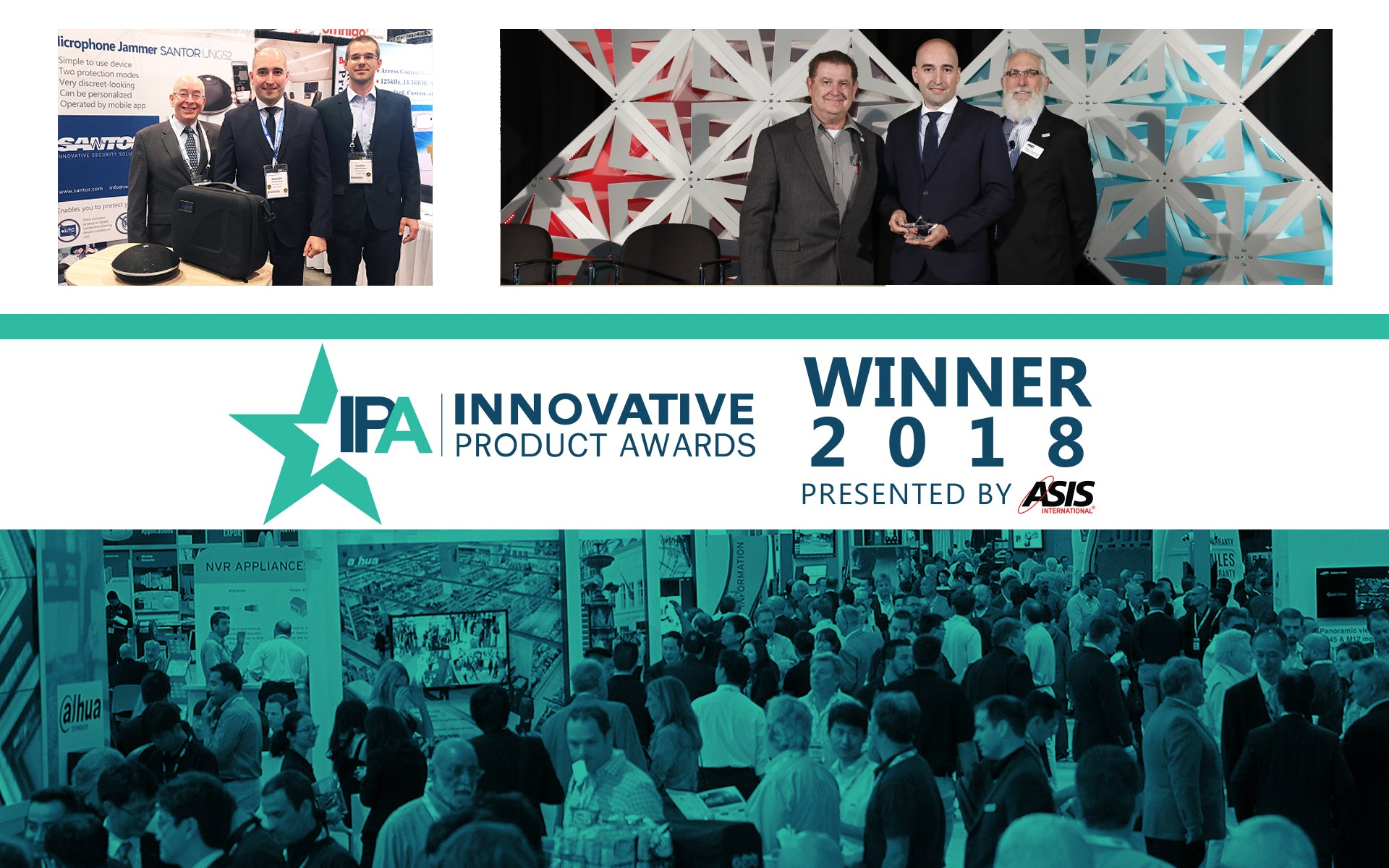 Santor, UNG52 Honored with 2018 GSX Innovative Product Award