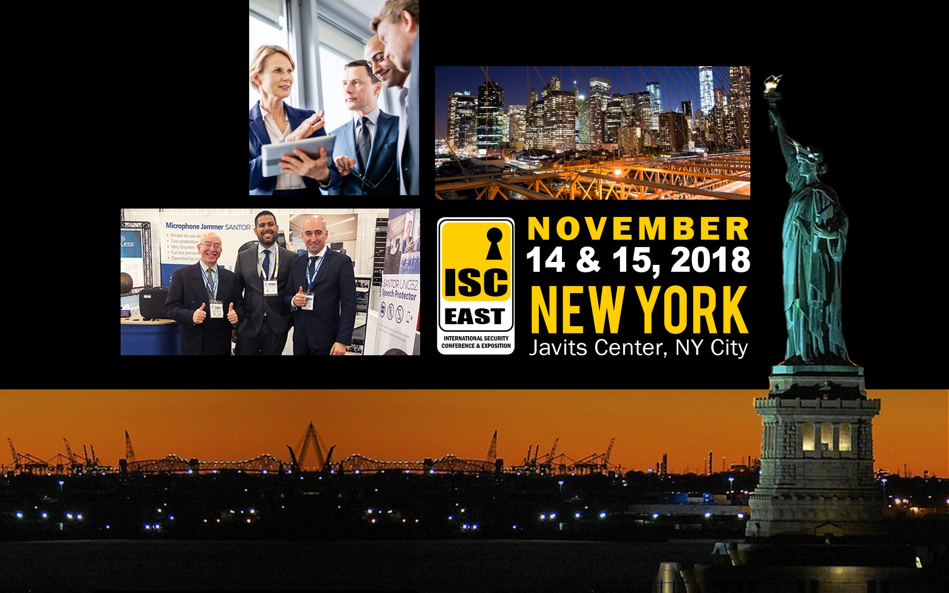 Santor at ISC East NYC 2018