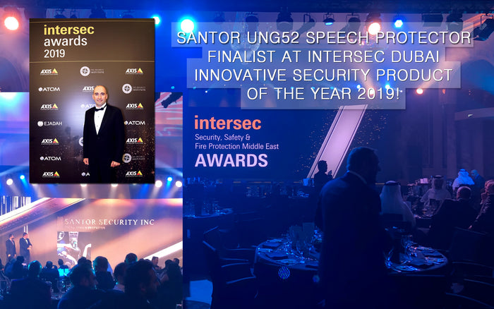 Innovative security product Award finalist of the year 2019 at INTERSEC DUBAI!