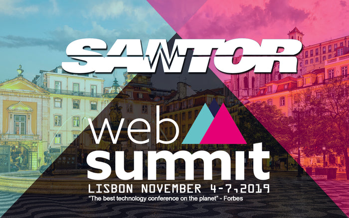 Santor at WEBSUMMIT 2019 , Lisbon
