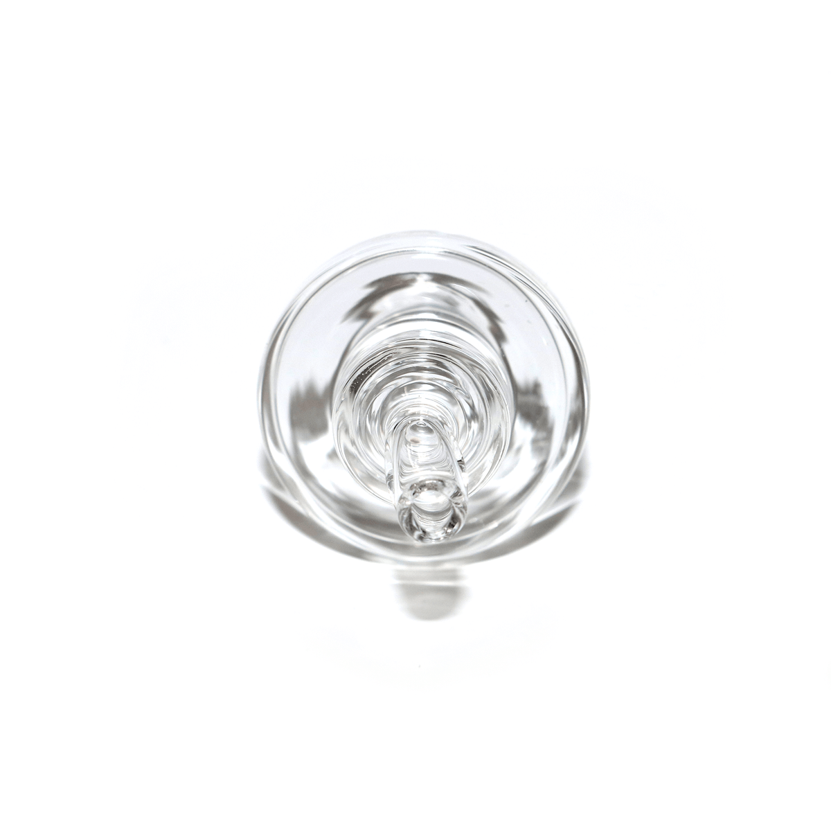 Directional Carb Cap - Clear, Spinning