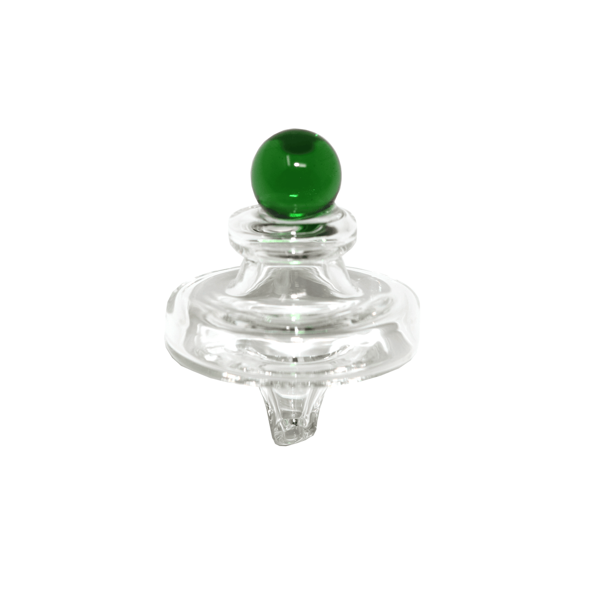 Saucer Carb Cap -  Side View