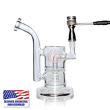 The Complete TDS Dabbing Enail Kit - Intermediate Version - Bubbler and Titanium