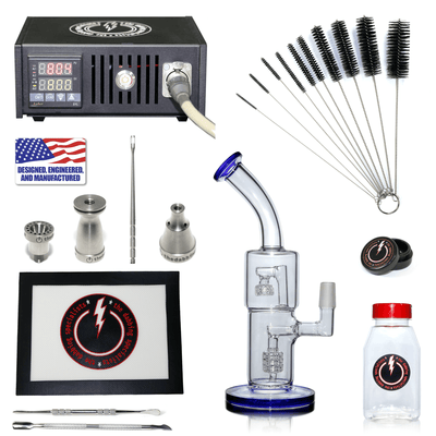 The Complete TDS Dabbing Enail Kit - Economy Version in Black