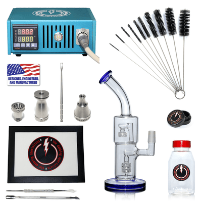 The Complete TDS Dabbing Enail Kit - Economy Version in Blue