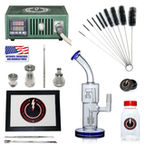The Complete TDS Dabbing Enail Kit - Economy Version in Green