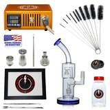 The Complete TDS Dabbing Enail Kit - Economy Version in Orange