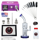 The Complete TDS Dabbing Enail Kit - Economy Version in Purple