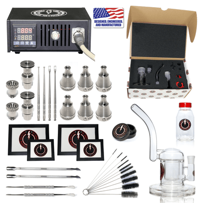 Complete TDS Dabbing Enail Kit - Ultimate - Black