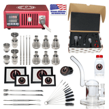 Complete TDS Dabbing Enail Kit - Red