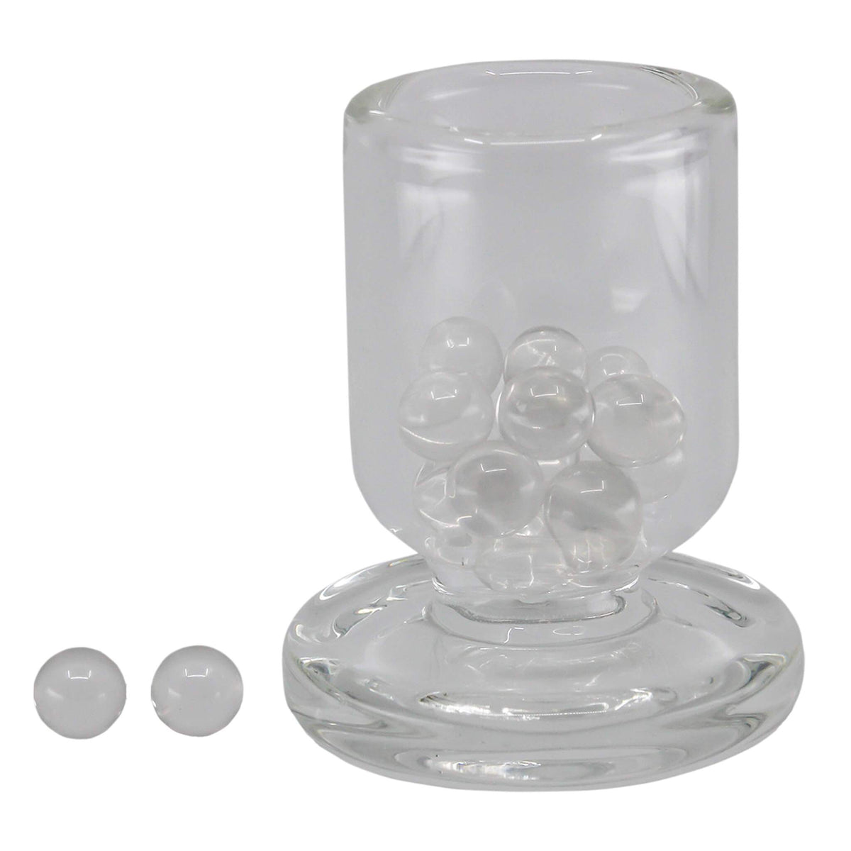 30mm Mini Enail Complete Dabbing Kit #5_Quartz Terp Pearls