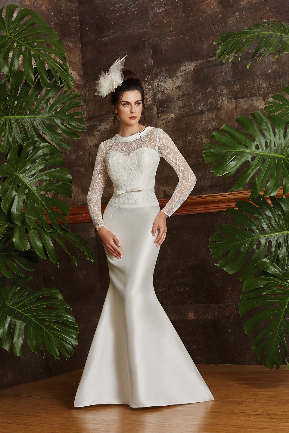 Vestidos De Boda Civil White México Carolina Vázquez Dress