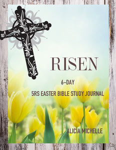 Risen 5Rs Easter Bible Study Journal