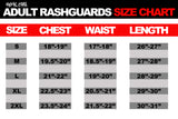 Ranked Short Sleeve Rashguards (Brown Belt)