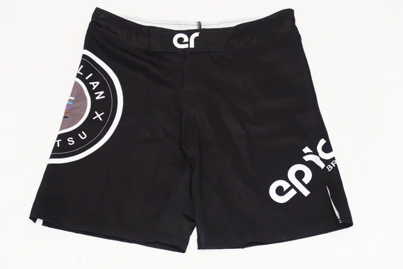 Epic Fight Shorts Velcro (Matte Black)