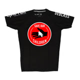 TOM DEBLASS-SAVE OUR CHILDREN RASHGUARD (AVAILABLE NOW!!!)