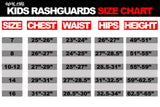 Ranked Short Sleeve Rashguards (Purple Belt)