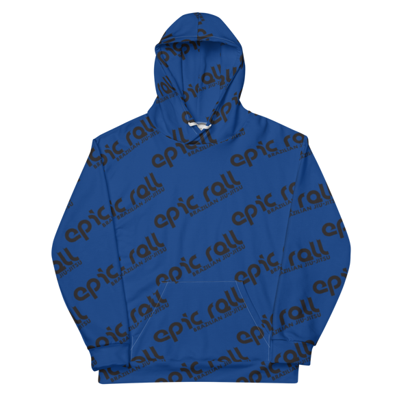 Epic Roll Hoodie (Black & Blue)