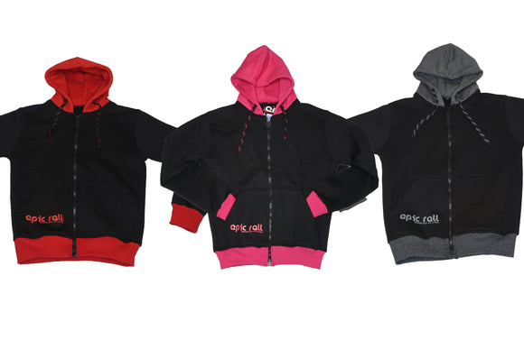 Blood and Steel & Pink Lipstick Epic Hoodies