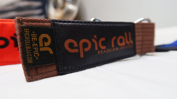Brown Belt Keychain
