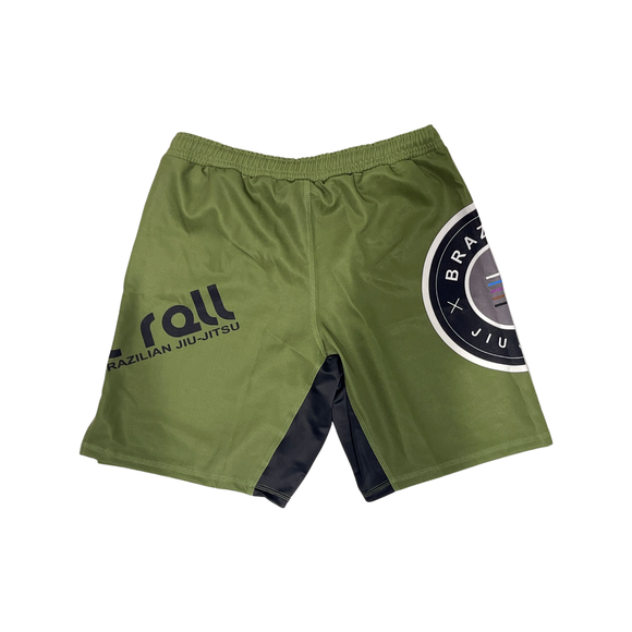 Epic Fight Shorts (Elastic waistband) Military Green