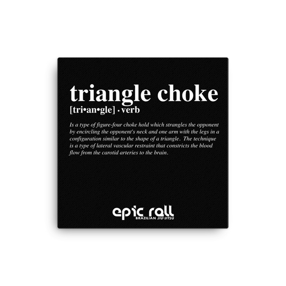Epic Art - Triangle Choke