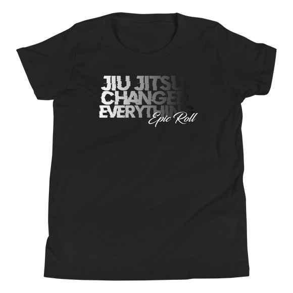 KIDS - JIU JITSU CHANGED EVERYTHING (MONOCHROME)
