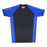 Ranked Short Sleeve Rashguards (Blue belt)