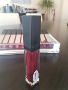 Discipline - Mirror Tube - All Natural Lip Gloss, Stunning Deep Burgundy Color and Shine.