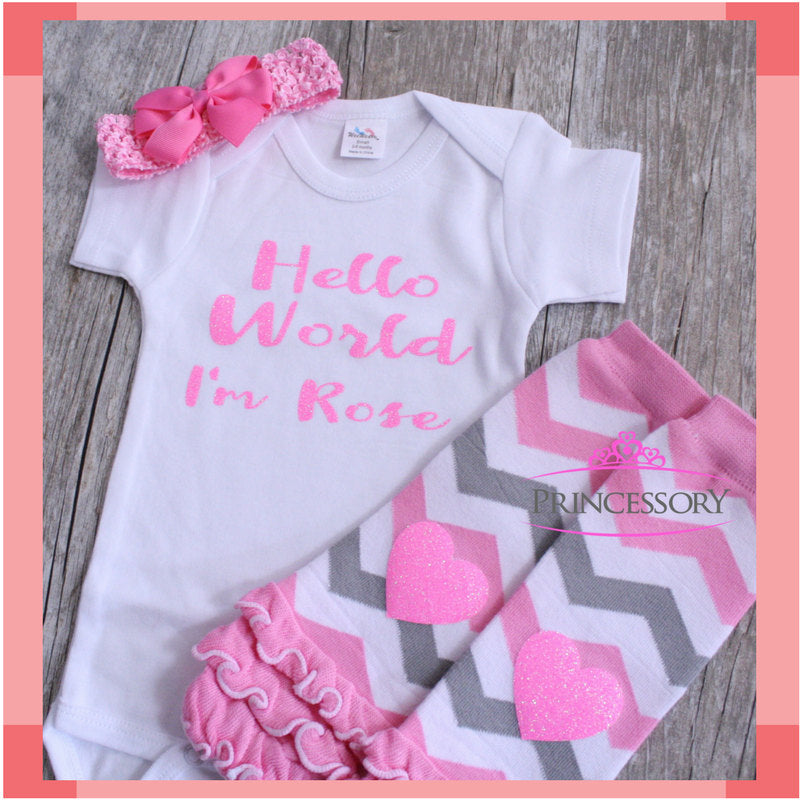 64d9a9773 baby girl coming home outfit - Newborn Baby Girl Outfit - Newborn Baby Girl  Coming Home Outfit - New Baby Gift - Take Home Outfit
