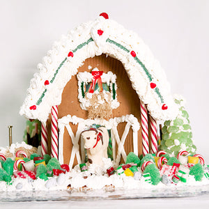 Large Gingerbread Barn
