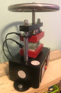 CannaKrusher 900W 2000 PSI Hand Crank Dual Plate Rosin Press