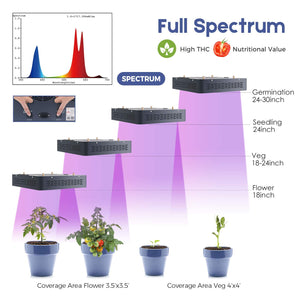 Mars Hydro Mars II LED Grow Light