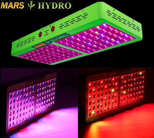 Mars Hydro Reflector 480W LED Grow Light Reflector 96 - Free Shipping