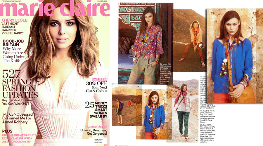 Marie Claire May 2012
