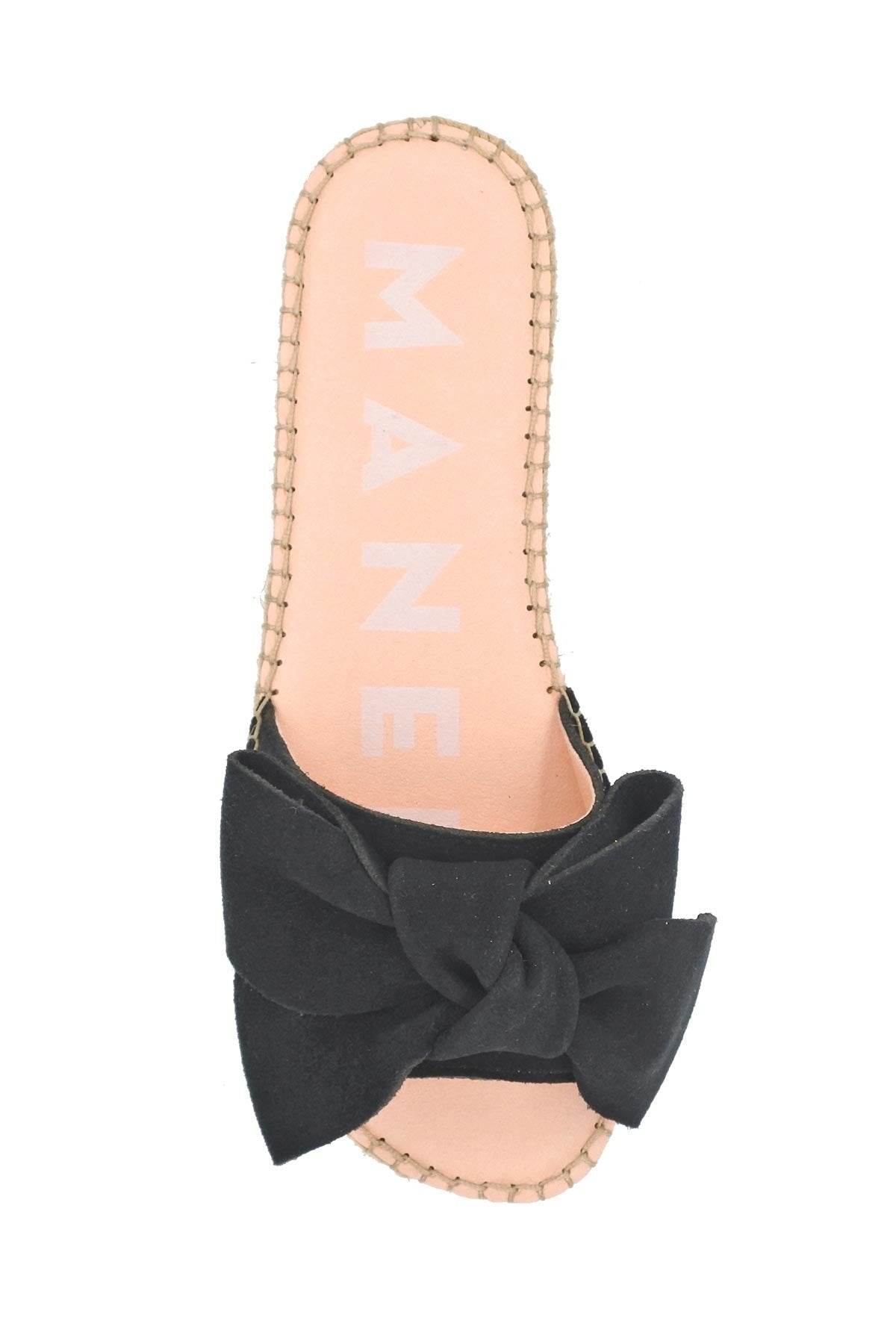 FLAT SANDALS WITH BOW BY MANEBI