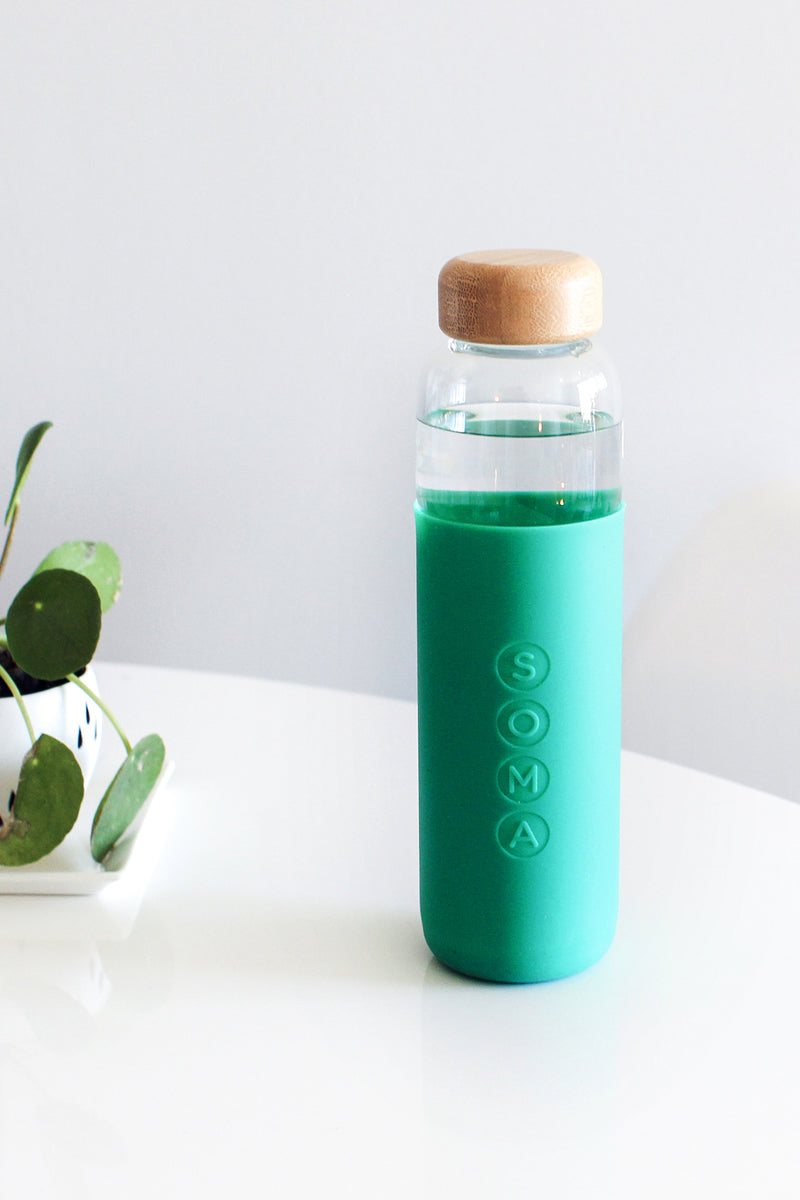 GLASS WATER BOTTLE BY SOMA