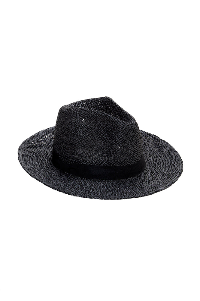 TWISTED OPENWEAVE CONTINENTAL HAT