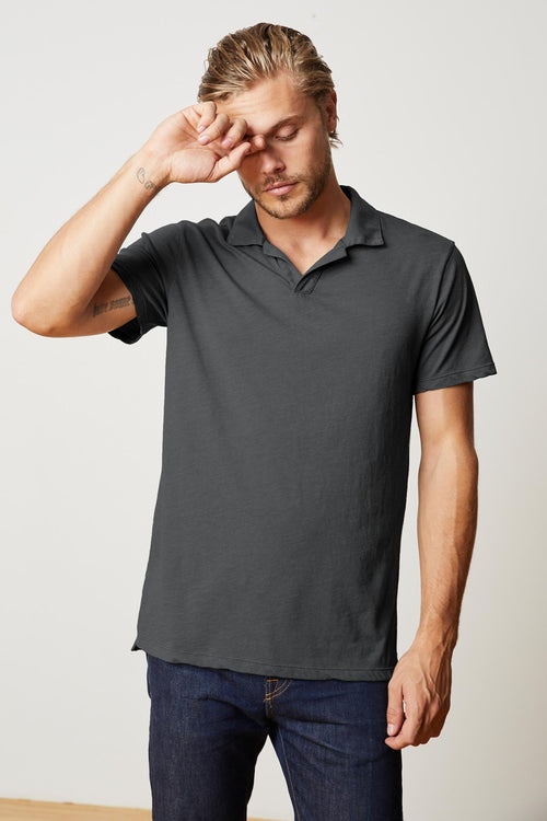 JACOBI HEATHER JERSEY POLO