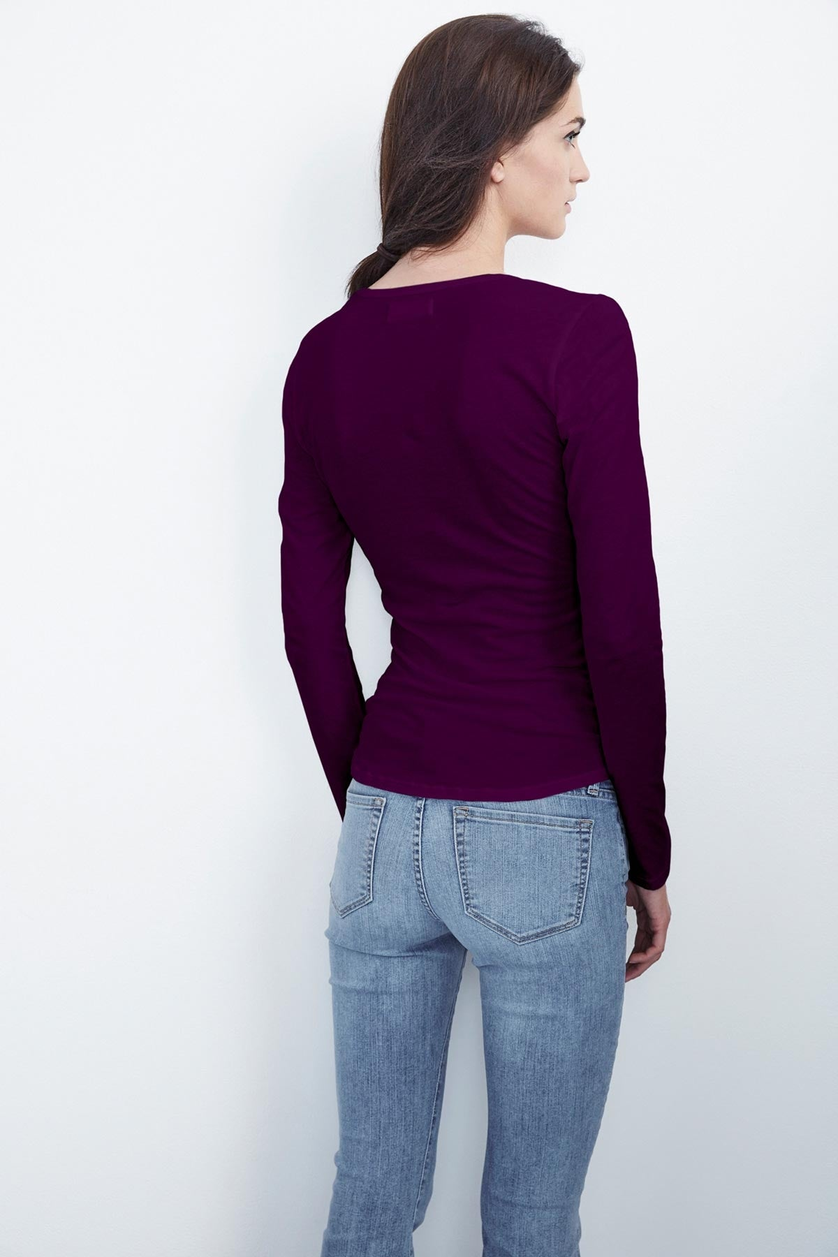 ALENE GAUZY WHISPER FITTED HENLEY