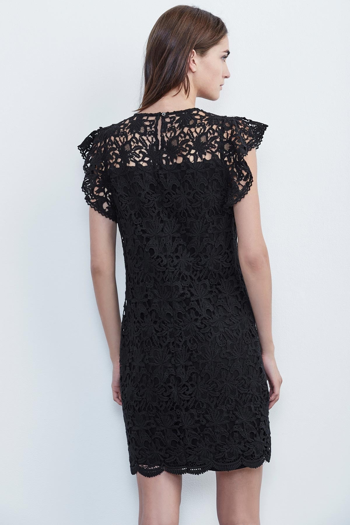 ALLY LACE CAP SLEEVE DRESS