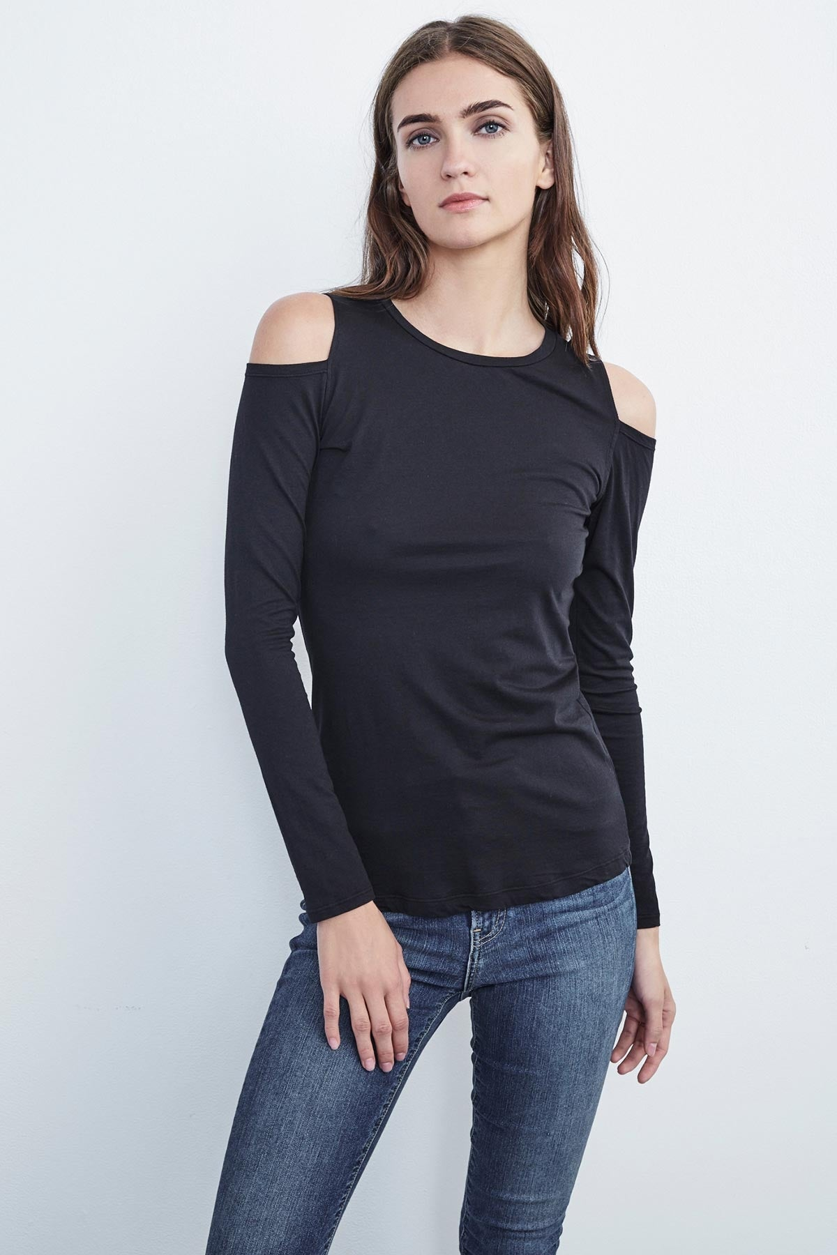 ZABANA COLD SHOULDER TEE