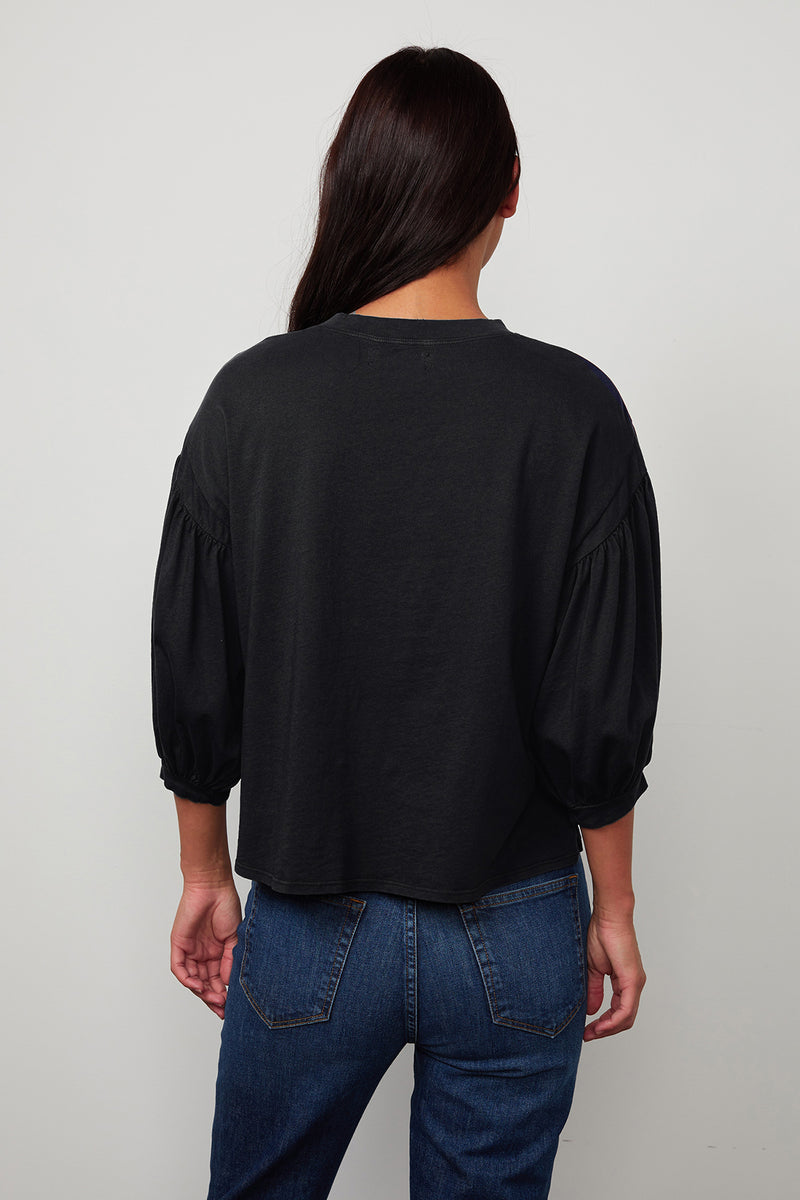 Prudy Top Black Back
