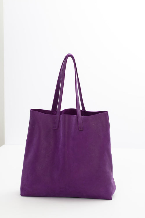 DEBBY LEATHER TOTE