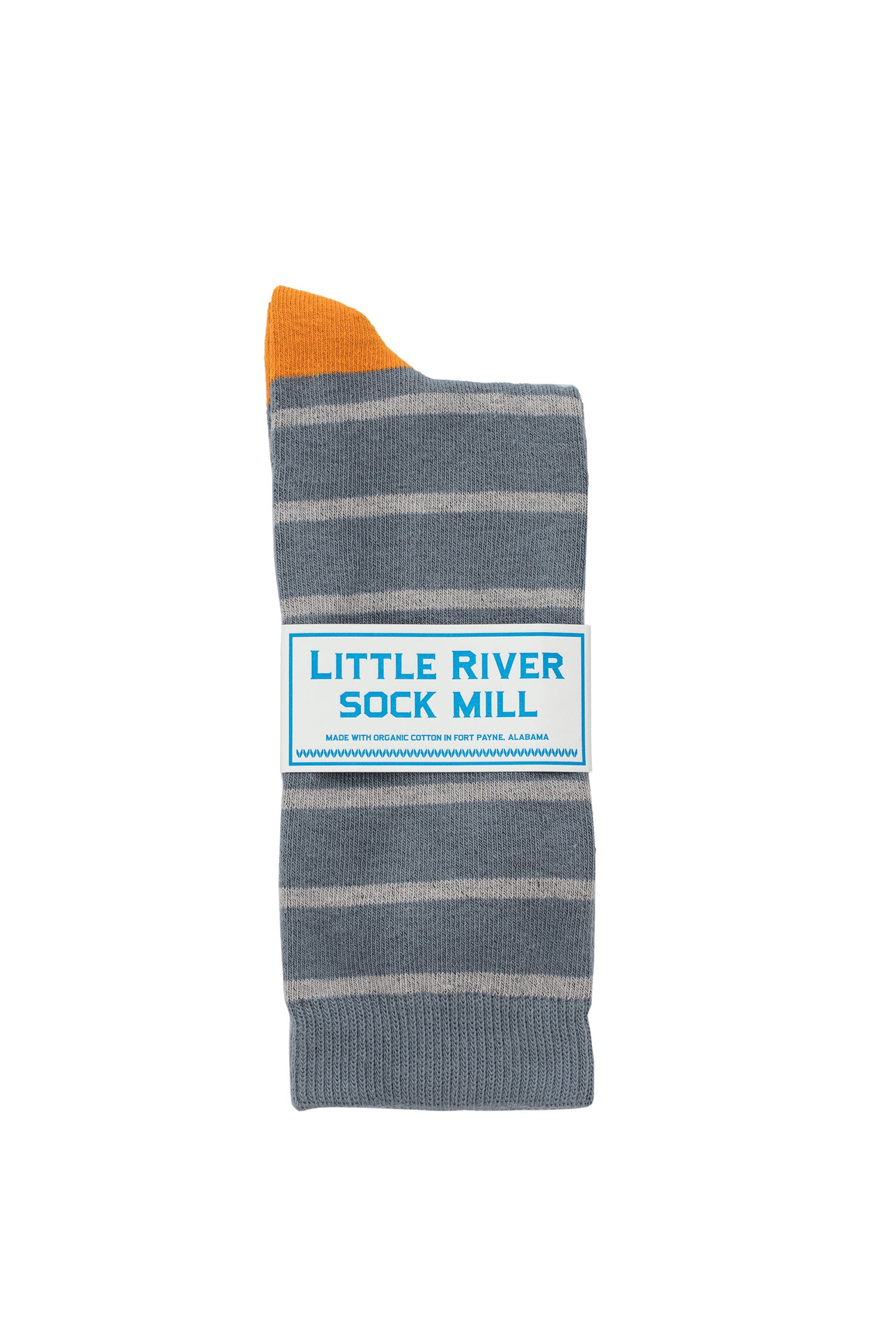 CLUB STRIPE CREW SOCK BY LITTLE RIVER SOCK MILL