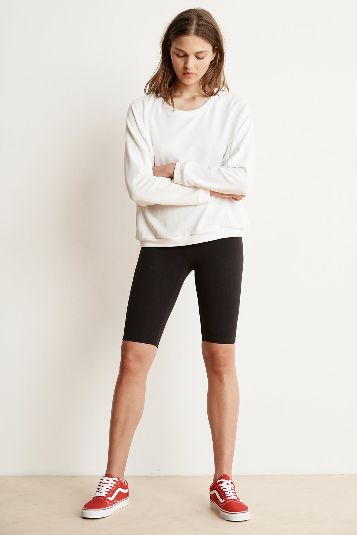 ROXY COTTON STRETCH BIKER SHORT