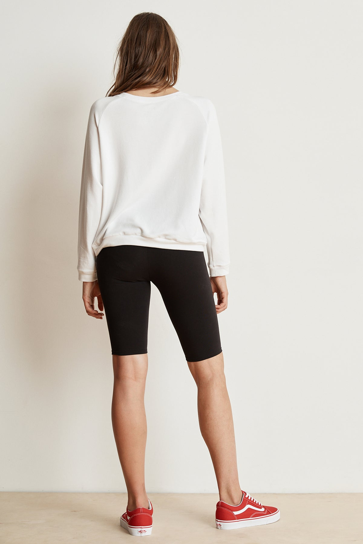 ROXY COTTON STRETCH BIKER SHORT BACK