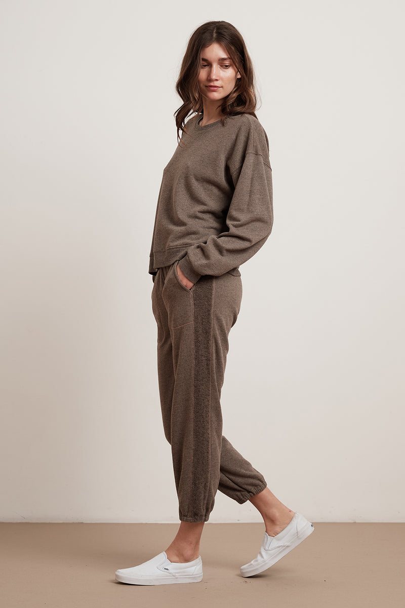 LANI SHERPA FLEECE SWEATPANT