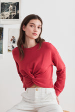 SAMMY VISCOSE FLEECE SWEATSHIRT