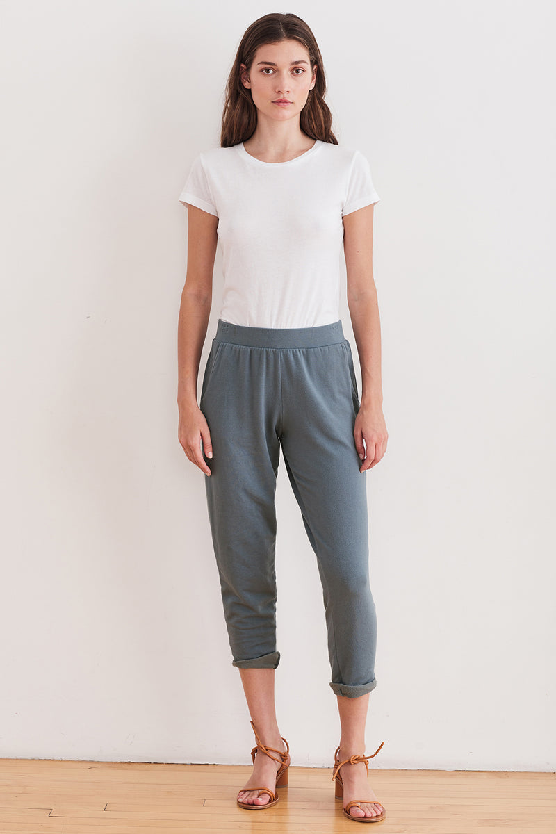 SUE ROLLED HEM JOGGERS